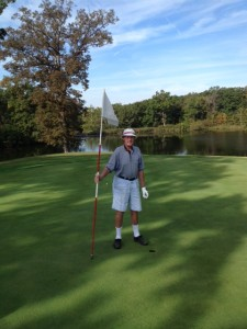 Bob Brown Hole in One 9-24-15