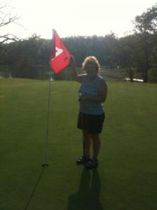Delores Martintoni hole in one on hole  on #1 on July 25, 2011